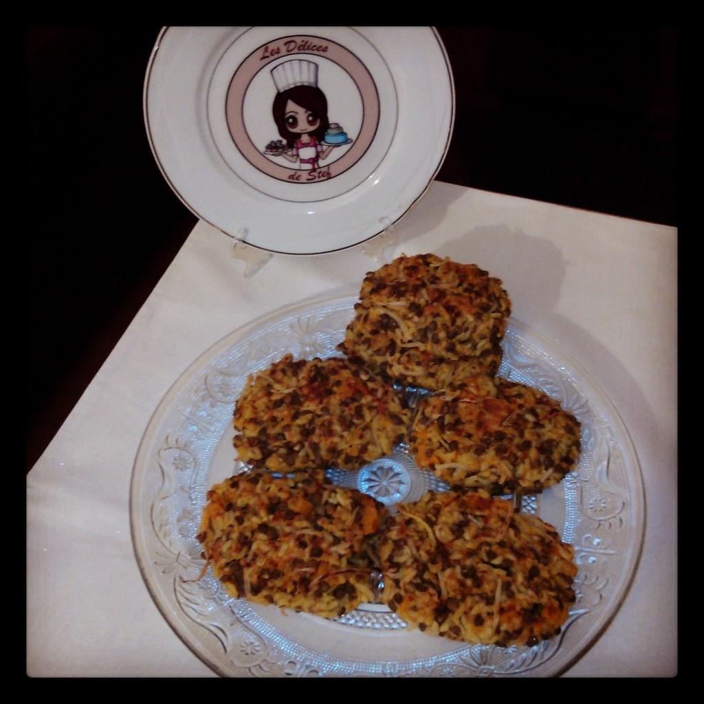 Galettes v g tariennes potimarron lentilles riz et - Cuisiner les germes de soja ...