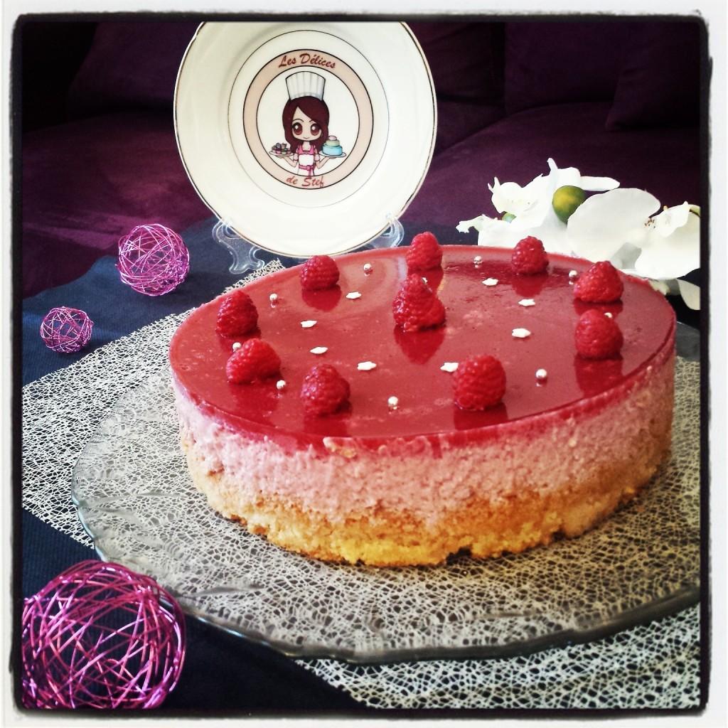 G Teau D Anniversaire Bavarois Rose Framboise V Gan Blogs De Cuisine