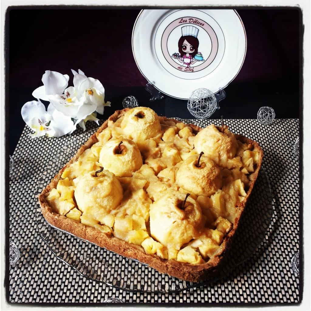Tarte aux pommes originale blogs de cuisine - Tarte soleil sucree originale ...